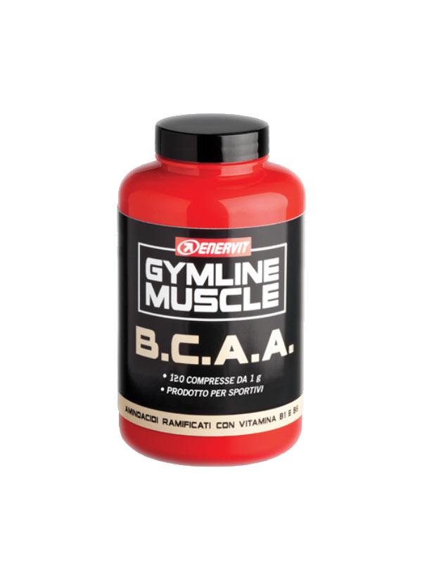 ENERVIT® GYMLINE MUSCLE BCAA AMINOACIDI RAMIFICATI 120 COMPRESSE DA 1 G