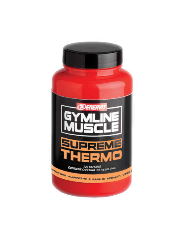 ENERVIT GYMLINE MUSCLE SUPREME THERMO 120 CAPSULE