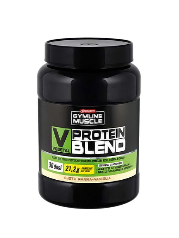 ENERVIT GYMLINE MUSCLE VEGETAL PROTEIN BLEND GUSTO PANNA VANIGLIA 900 G