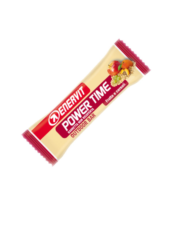 ENERVIT POWER TIME OUTDOOR BAR BARRETTA FRUTTA E CEREALI 35 G