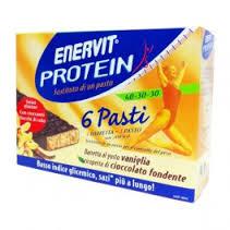 ENERVIT PROTEIN 6 PASTI GUSTO VANIGLIA - 6 BARRETTE DA 53 G