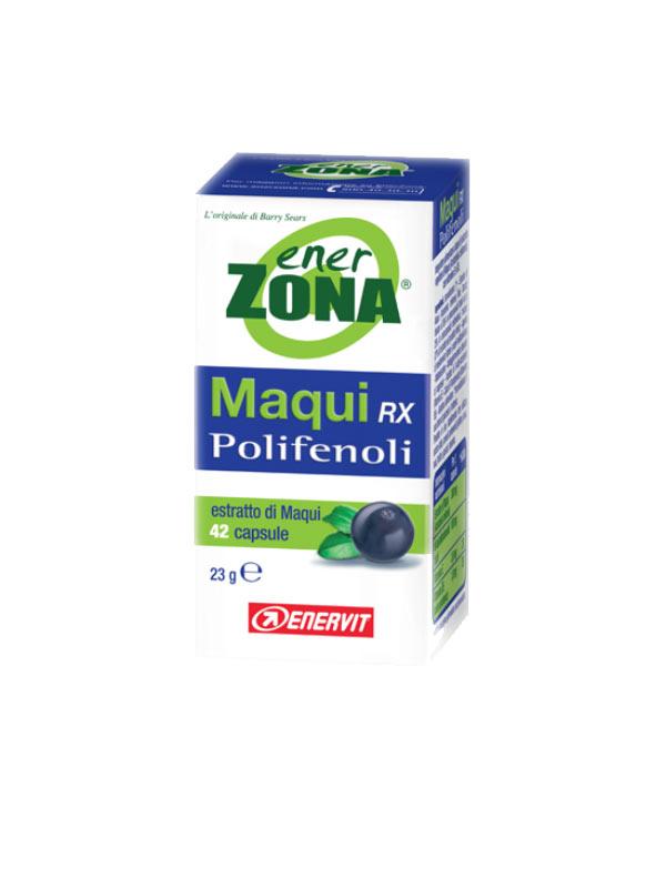 ENERZONA MAQUI RX POLIFENOLI INTEGRATORE DI MAQUI - 42 CAPSULE DA 23 G