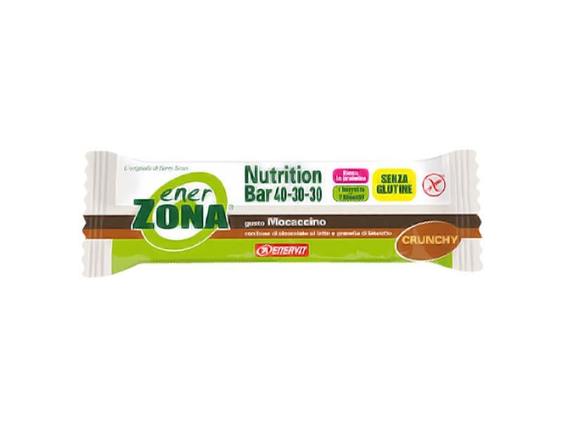 ENERZONA NUTRITION BAR 40-30-30 BARRETTA GUSTO MOCACCINO 48 G