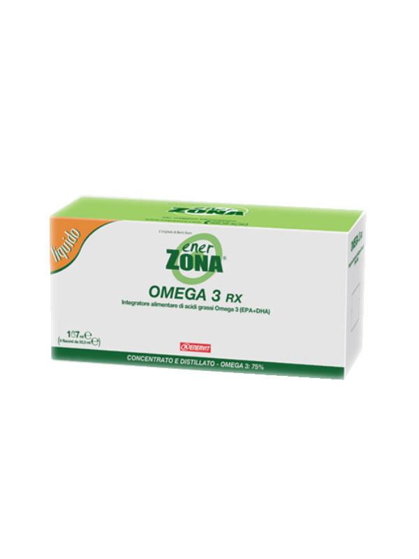 ENERZONA® OMEGA 3 RX LIQUIDO 5 FLACONI DA 33,3 ML
