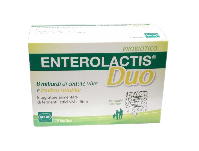 ENTEROLACTIS® DUO FERMENTI LATTICI 20 BUSTINE DA 5 G