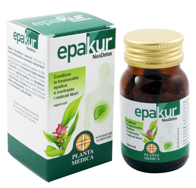 EPAKUR NEODETOX 50 OPERCOLI DA 500 MG