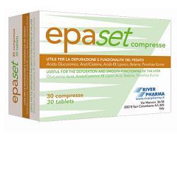 EPASET INTEGRATORE ALIMENTARE PER PROMUOVERE LA FUNZIONALITA' EPATICA - 30 COMPRESSE