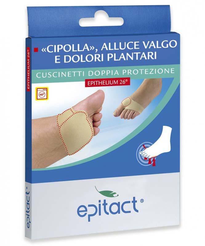 EPITACT® CUSCINETTI DOPPIA PROTEZIONE ALLUCE VALGO E DOLORI PLANTARI TAGLIA S