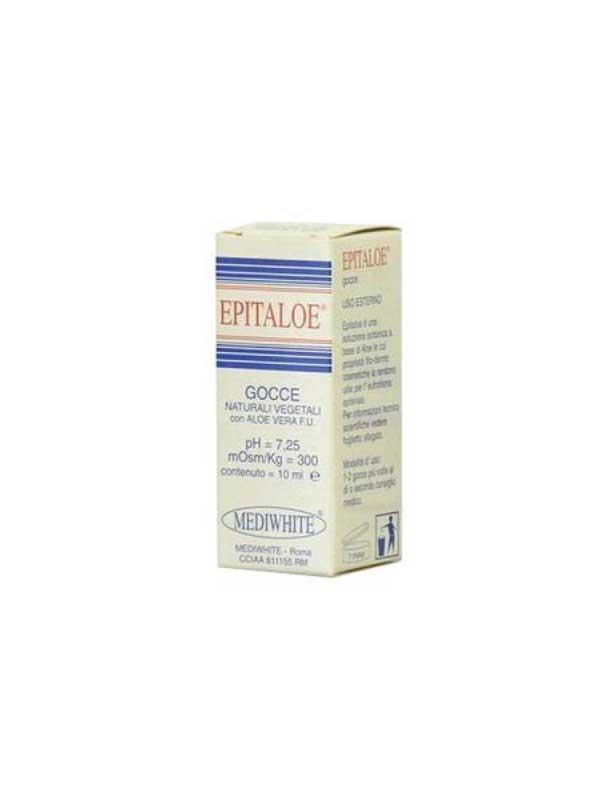EPITALOE GOCCE NATURALI VEGETALI 10 ML