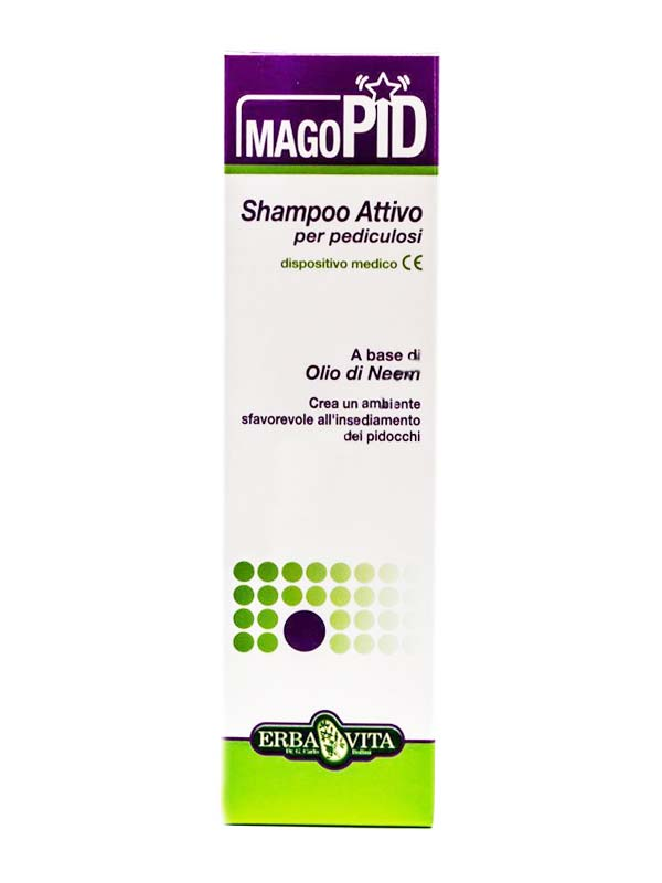 ERBA VITA MAGOPID SHAMPOO ATTIVO CONTRO I PIDOCCHI 200 ML