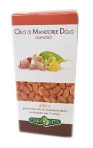 ERBA VITA OLIO DI MANDORLE DOLCI LEGNOSO - 250 ML