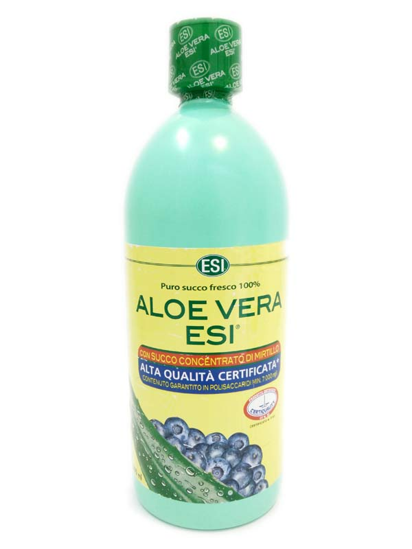 ESI ALOE VERA CON SUCCO DI MIRTILLO 1000 ML