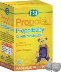 ESI PROPOLAID PROPOLBABY GUSTO FRAGOLA - 80 ORSETTI MASTICABILI