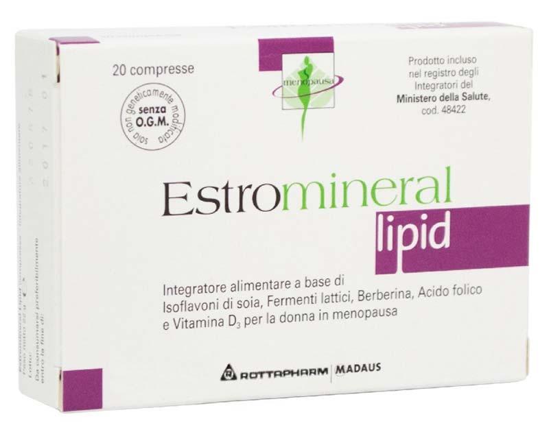 ESTROMINERAL LIPID 20 COMPRESSE