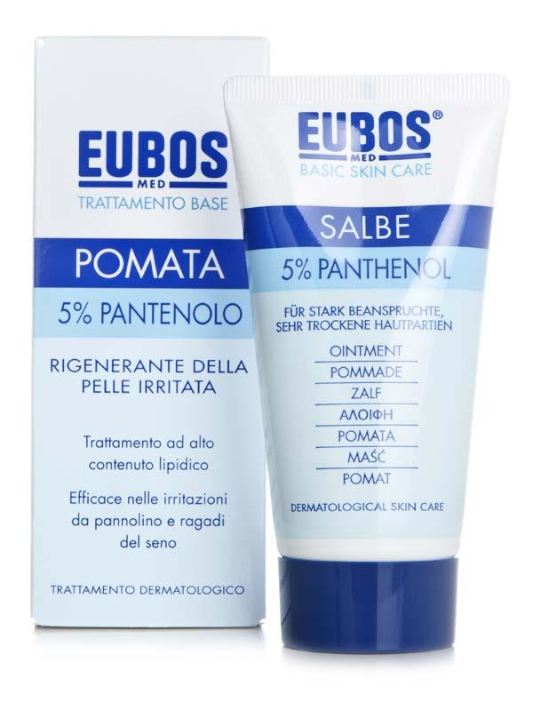 EUBOS POMATA 5% PANTENOLO 75 ML