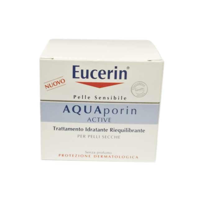 EUCERIN AQUAPORIN ACTIVE TRATTAMENTO IDRATANTE RIEQUILIBRANTE PER PELLI SECCHE - 50 ML