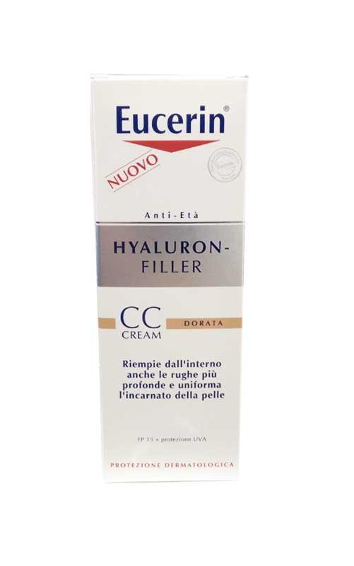 EUCERIN HYALURON CC CREMA DORATA FP 15 - 50 ML