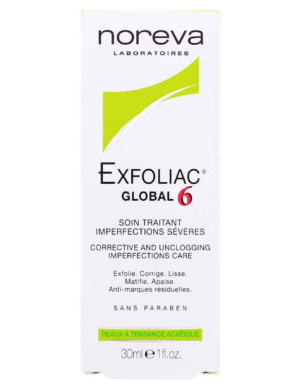 EXFOLIAC GLOBAL 6 TRATTAMENTO ANTI IMPERFEZIONI 30 ML