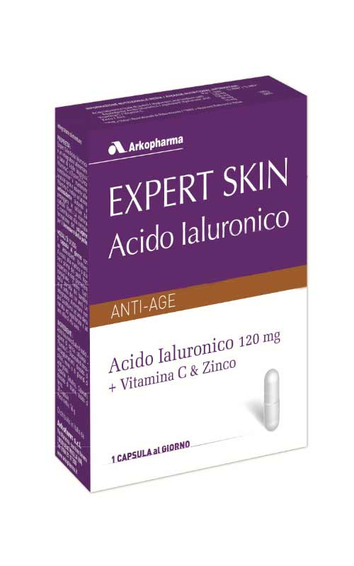 EXPERT SKIN ACIDO IALURONICO - AZIONE ANTI AGE - 30 CAPSULE