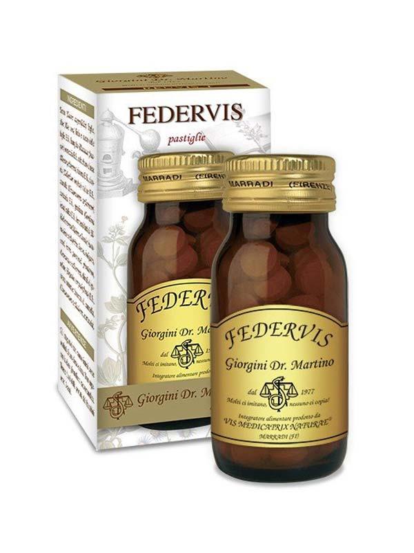 FEDERVIS 100 PASTIGLIE DA 500 MG