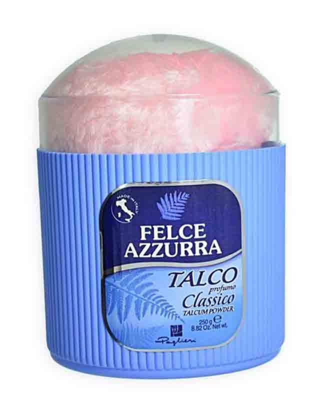 FELCE AZZURRA TALCO CON PIUMINO - 250 GR