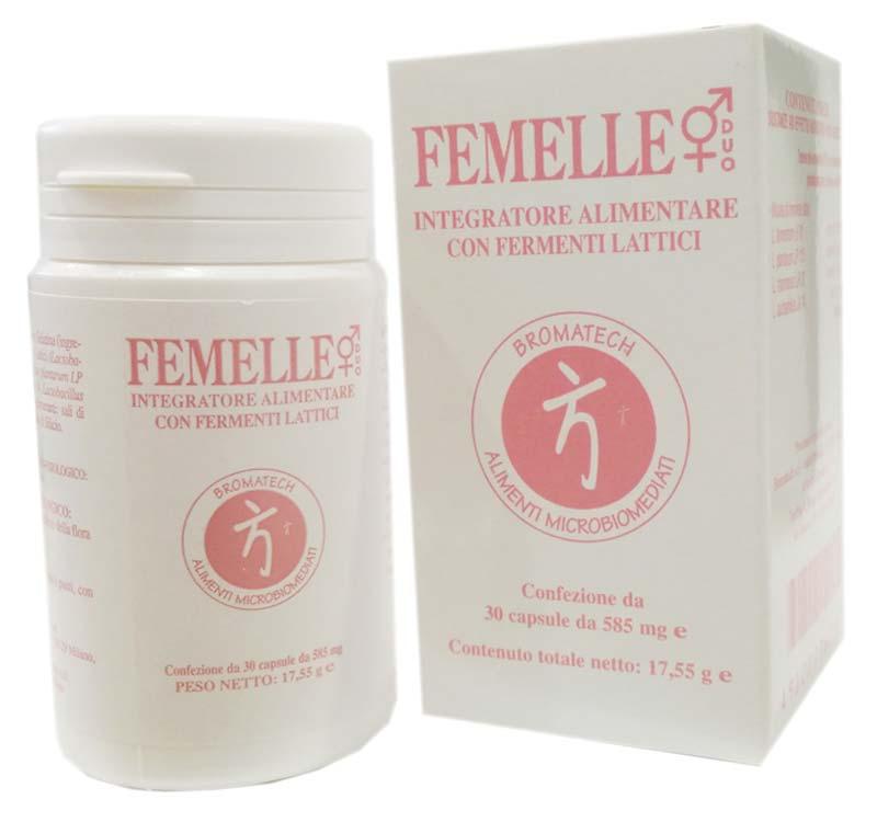 FEMELLE INTEGRATORE BROMATECH 30 CAPSULE