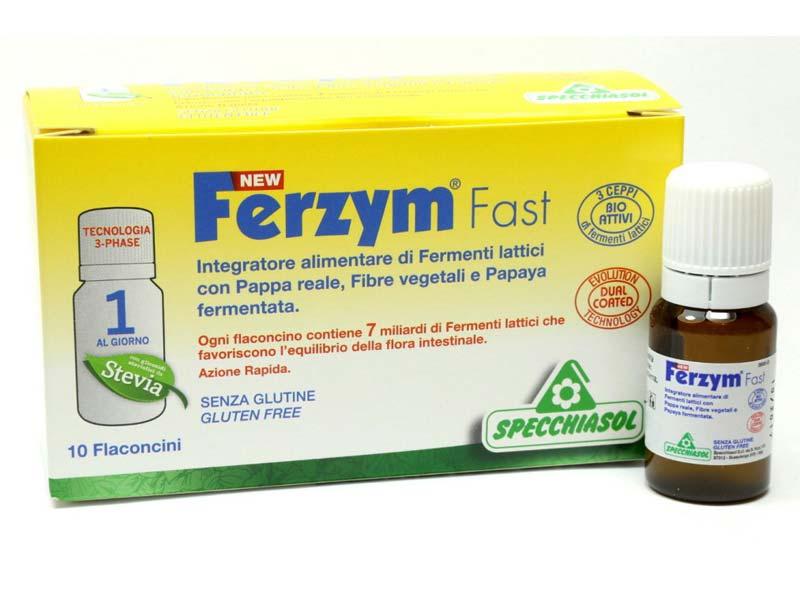 FERZYM FAST 10 FLACONCINI DA 8 ML