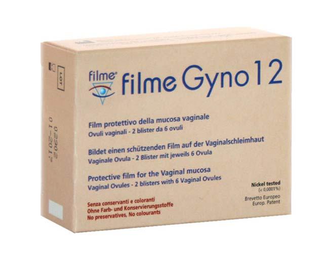 FILME GYNO OVULI VAGINALI - 12 OVULI