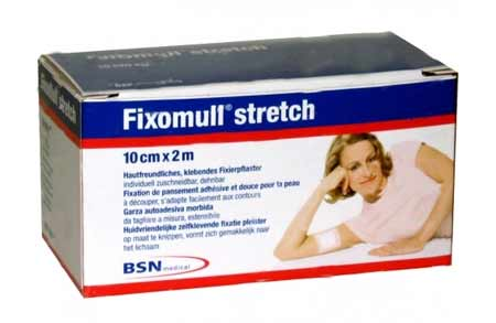 FIXOMULL STRETCH GARZA AUTOADESIVA IN TNT MORBIDA ED ESTENSIBILE - 200 x 10 CM