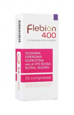 FLEBION 400 36 COMPRESSE
