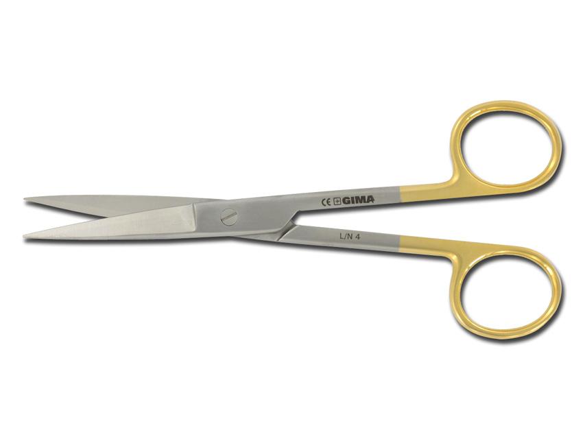 FORBICI RETTE C.T. - punte acute - 14,5 cm