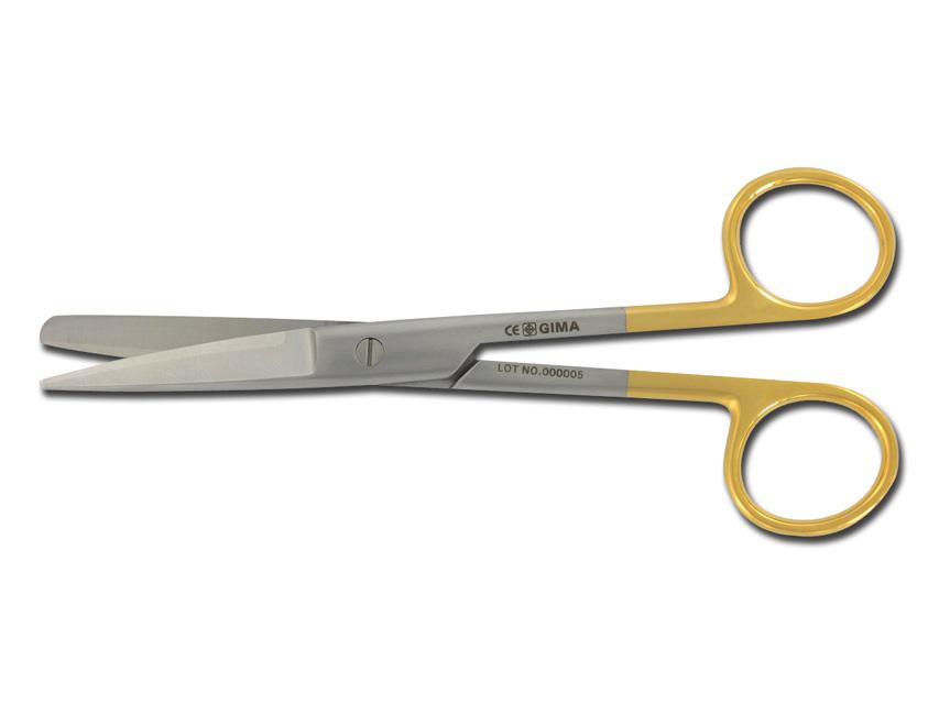 FORBICI RETTE C.T. - punte alterne - 14,5 cm