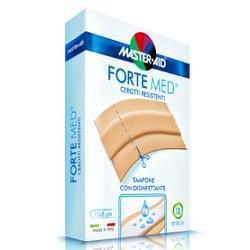 FORTE MED STRISCIA A TAGLIO IN POLIETILENE COLOR PELLE - 10 STRISCE DA 10 x 8 CM
