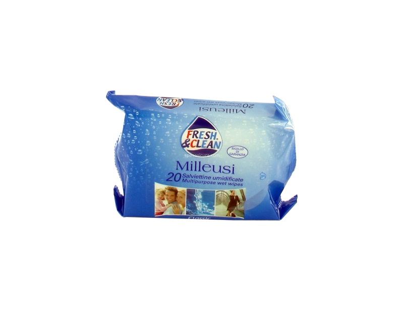 FRESH AND CLEAN SALVIETTINE MILLEUSI CLASSICHE - 20 PEZZI