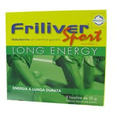FRILIVER® SPORT LONG ENERGY - 8 BUSTINE DA 30 G