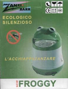 FROGGY dispositivo anti zanzare ecologico e silenzioso