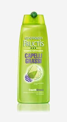 FRUCTIS SHAMPOO FORTIFICANTE - CAPELLI GRASSI - 250 ML