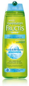 FRUCTIS SHAMPOO FORTIFICANTE PULITI E BRILLANTI - 250 ML