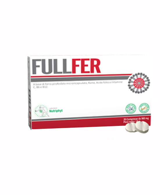 FULLFERR INTEGRATORE DI FERRO 20 COMPRESSE