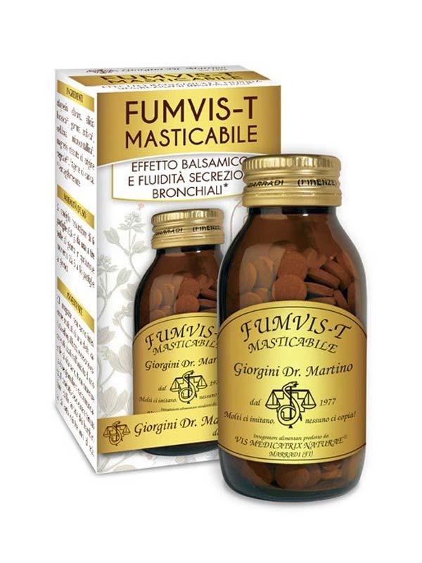 FUMVIS T MASTICABILE 180 PASTIGLIE DA 500 MG