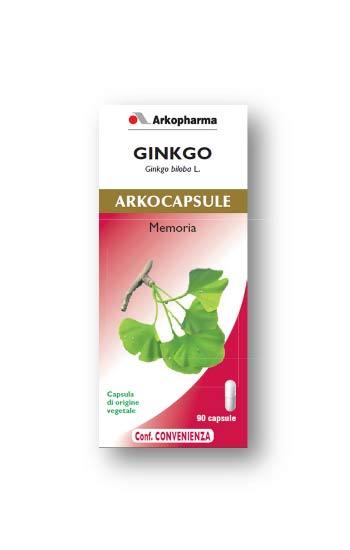 GINKGO ARKOCAPSULE 90 CAPSULE