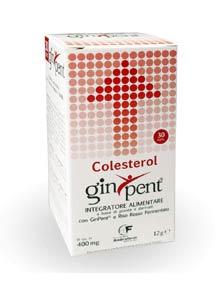 GINPENT COLESTEROL INTEGRATORE PER I NORMALI LIVELLI DI COLESTEROLO - 30 CAPSULE
