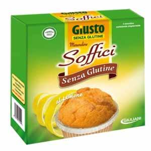 GIUSTO SENZA GLUTINE - MERENDINE SOFFICI AL LIMONE - 200 G