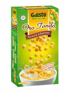 GIUSTO SENZA GLUTINE - ORO TONDO CON MIELE - 250 G