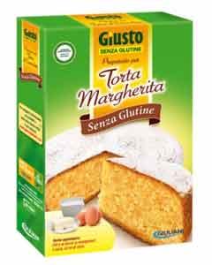 GIUSTO SENZA GLUTINE - PREPARATO PER TORTA MARGHERITA - 350 G