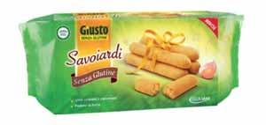 GIUSTO SENZA GLUTINE - SAVOIARDI - 150 G
