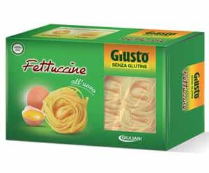 GIUSTO SENZA GLUTINE PASTA ALL'UOVO - FETTUCCINE - 250 G