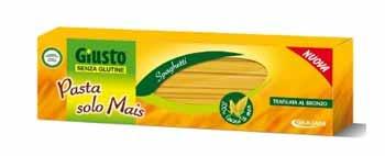 GIUSTO SENZA GLUTINE PASTA SOLO MAIS - SPAGHETTI - 500 G