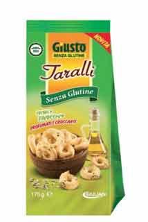 GIUSTO SENZA GLUTINE TARALLI AL FINOCCHIO 175 G