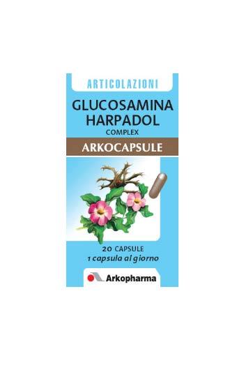 GLUCOSAMINA HARPADOL COMPLEX ARKOCAPSULE 20 CAPSULE